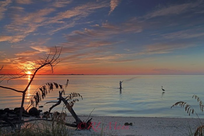14. Rick Mann captured this stunning sunrise near Sanibel.