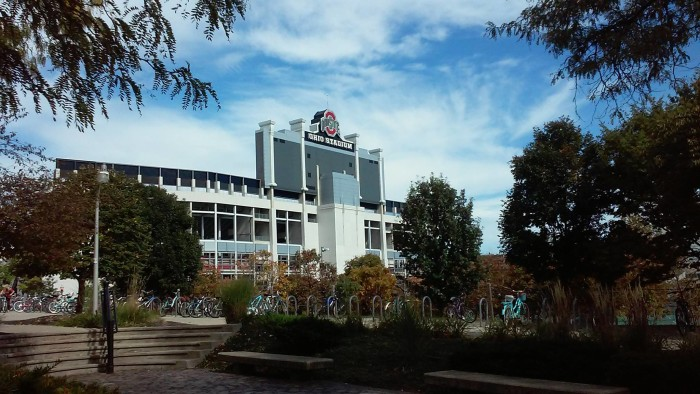 4. Fall day at The Ohio State University in Columbus, OH