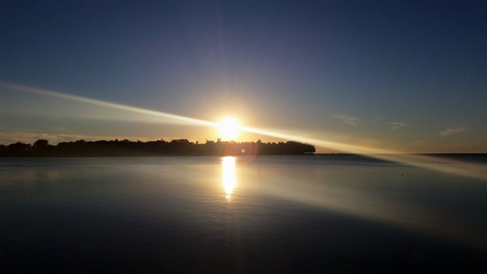 15. Heather Maggie Marie photographed the suns rays beaming over Lake Mille Lacs.