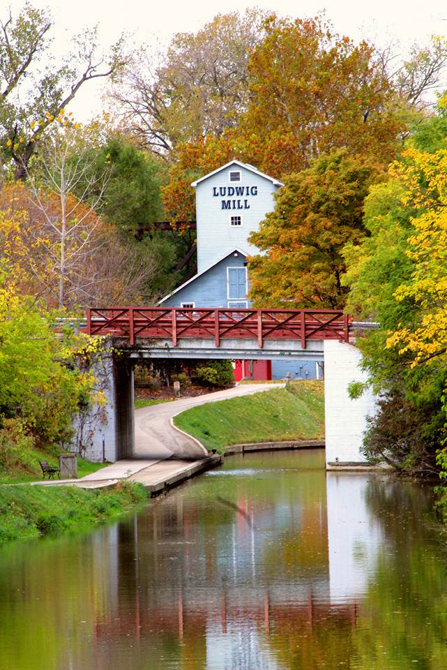 9. Autumn at Ludwig Mill in Grand Rapids