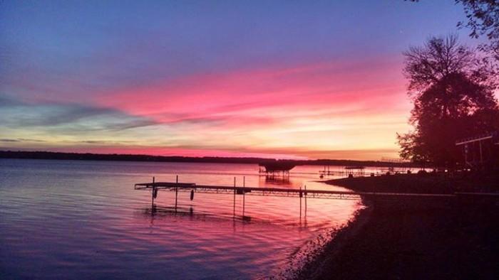 10.  Kathy Heifort VanWechel took this amazing #Nofilter photo on West Battle Lake.