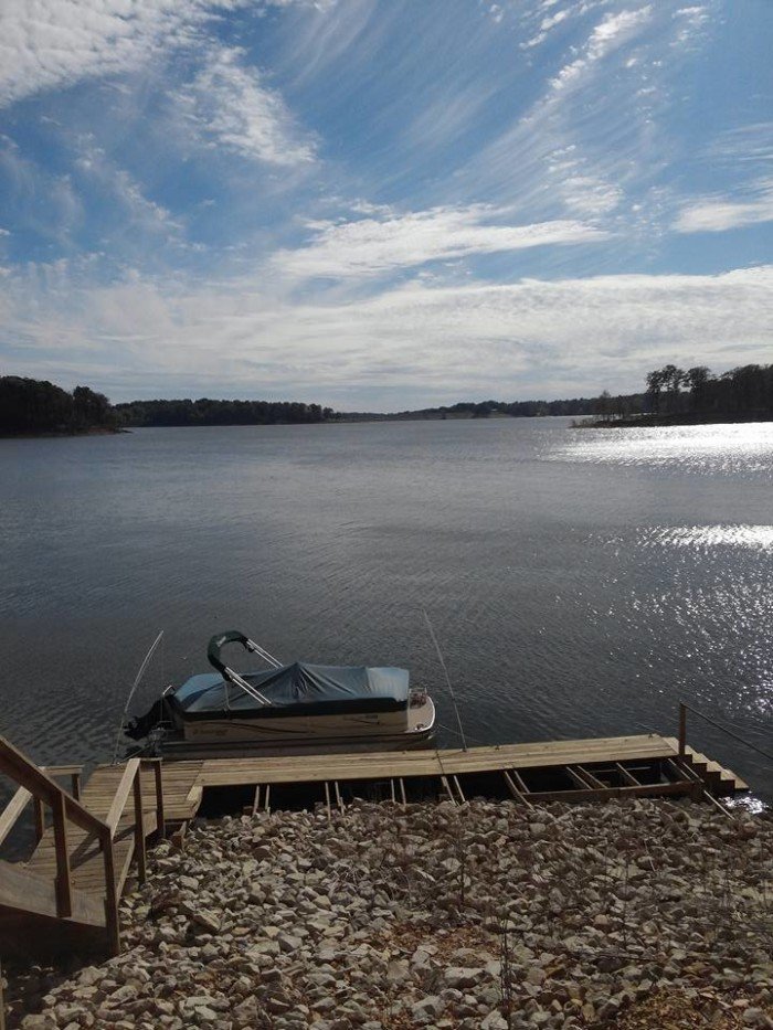 11. Lisa Conder Gray shared a picture of Raccoon Lake with us!