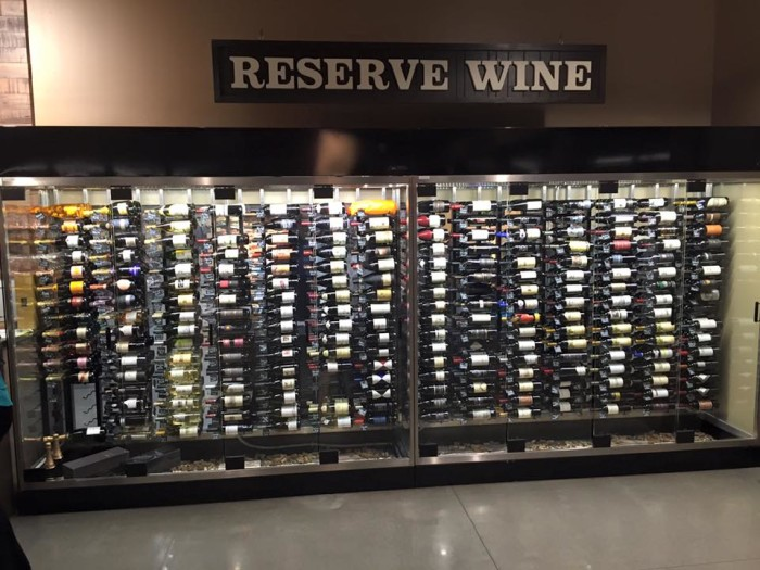 Yes, they even have a section for anyone who needs a drink!