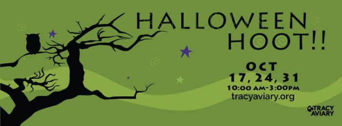 12. Halloween Hoot at Tracy Aviary, Salt Lake City