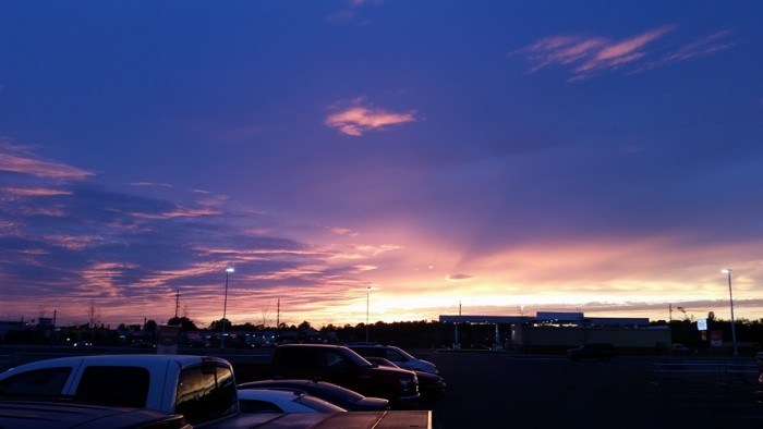 13. Troy Freeman has shared another incredible piece with us this week! This picture is of the sky over Terre Haute!