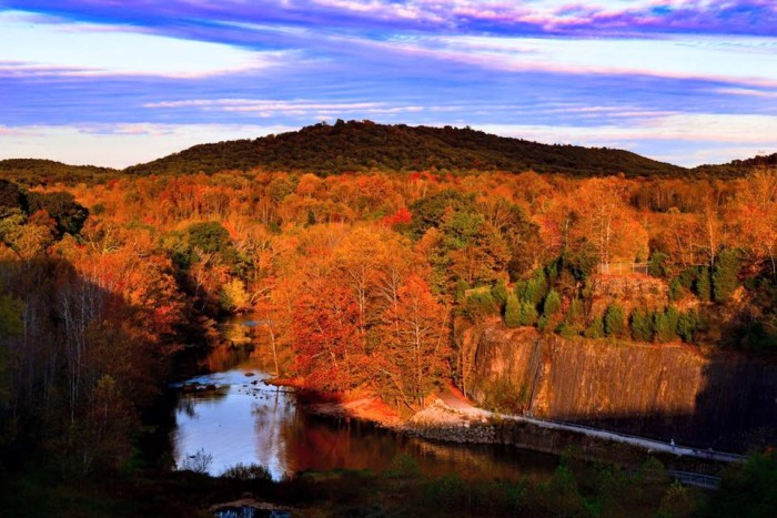 7. Autumn at Paint Creek Dam in Ross County