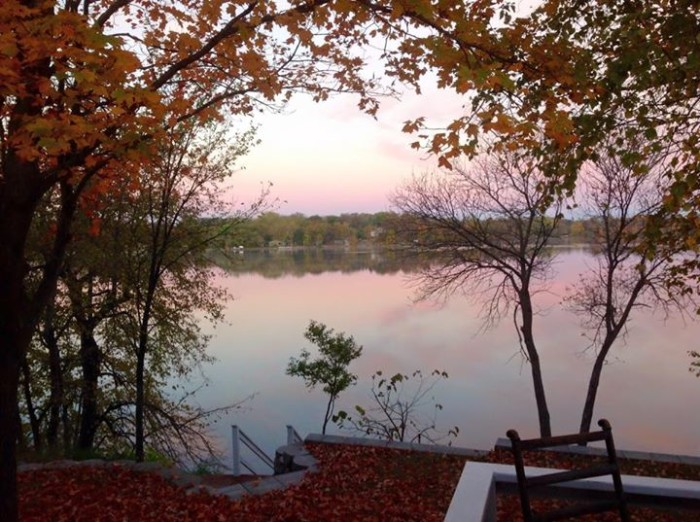 17. Lou Ann Marks treated us to another beautiful photo - this time at Lake Brophy.