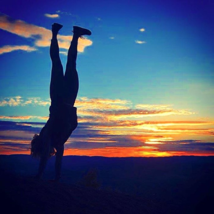 12) This beautifully captured action scene at the top of Wrights Mountain by Alanna Brittany.