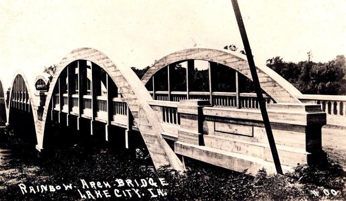 12.  The ghost of Rainbow Bridge