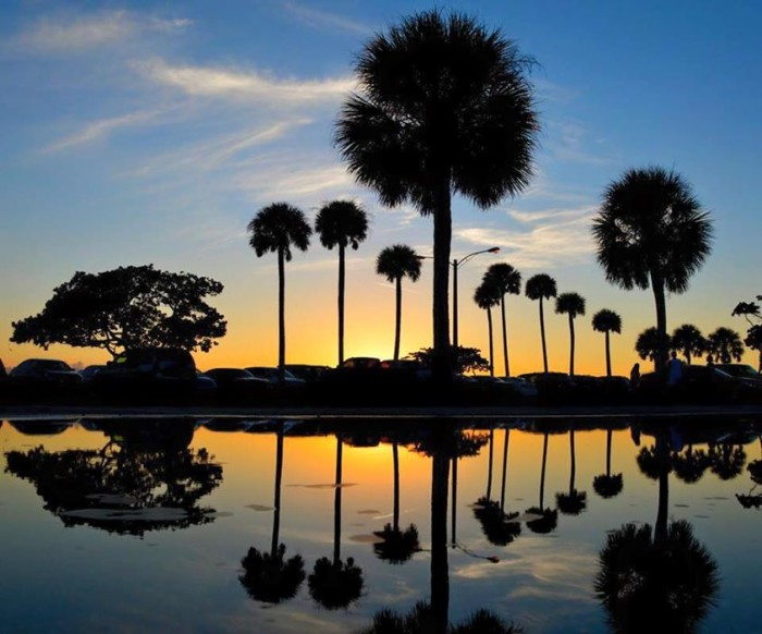 11. This sunset in Sarasota was captured by Val Vasilescu.