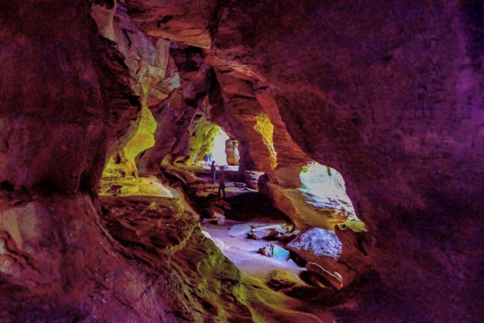 9. The Rock House at Hocking Hills State Park