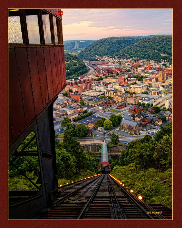 13. City View of Johnstown by Bob Hancock.