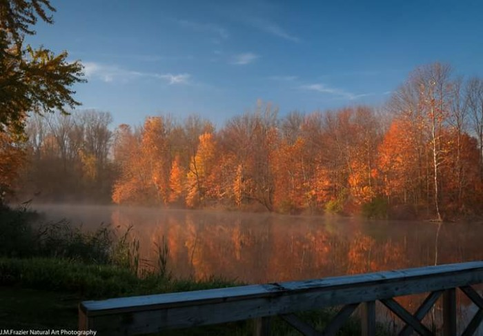 12. Jeff Frazier submitted a picture to our Facebook page of a frosty dawn in Howard County. Such a gorgeous picture!