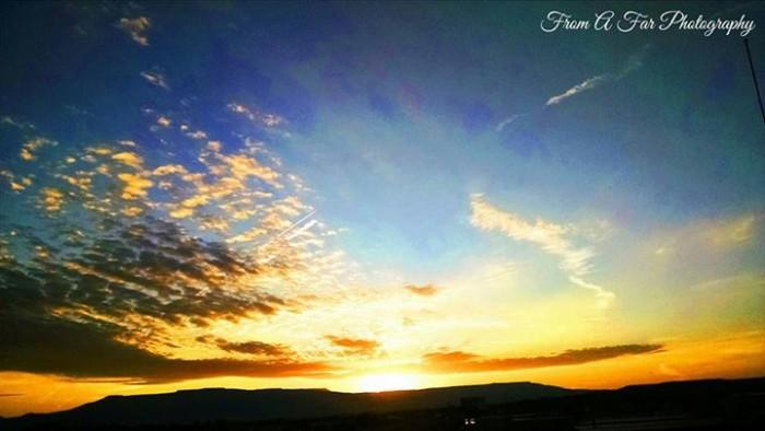 15. Sunrise on Orchard Mesa.