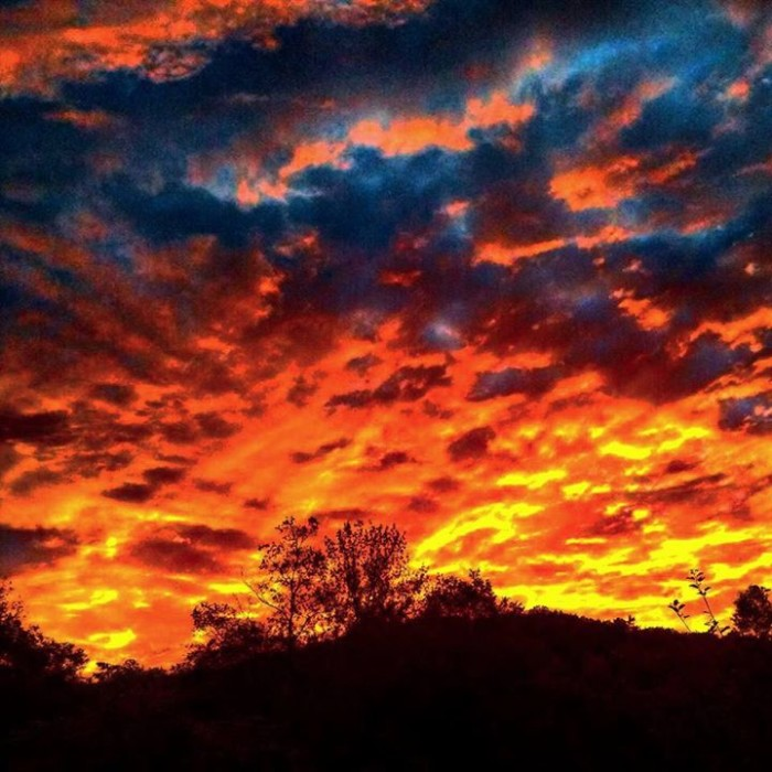 7) Scott Cole could not have captured a more picture-perfect color filled sunset if he tried.