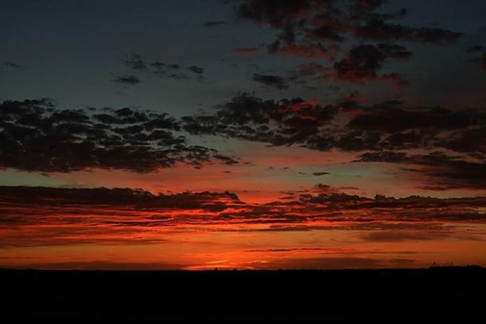 11. Jeremy J Von Hagel captured this picturesque sunrise near LeMars.