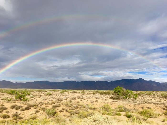 4. This image of a rainbow at Golden Valley reminds me of the rainbow article from earlier this week. :)