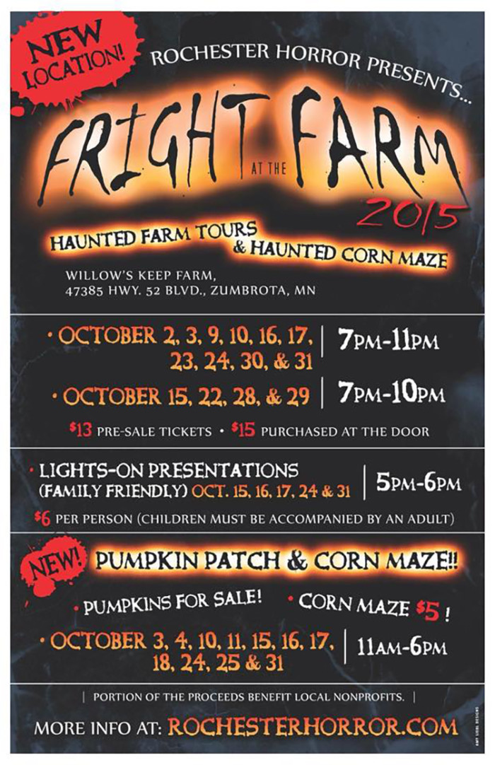 17. Rochester Horror - Fright at the Farm