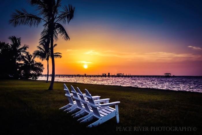 6. John Blanco shared this sunset from Bokeelia in Pine Island