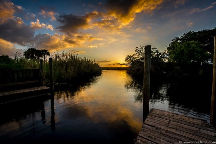 17. Marty Fletcher captured an incredible sunset at Lone Cabbage Fish Camp in Cocoa.