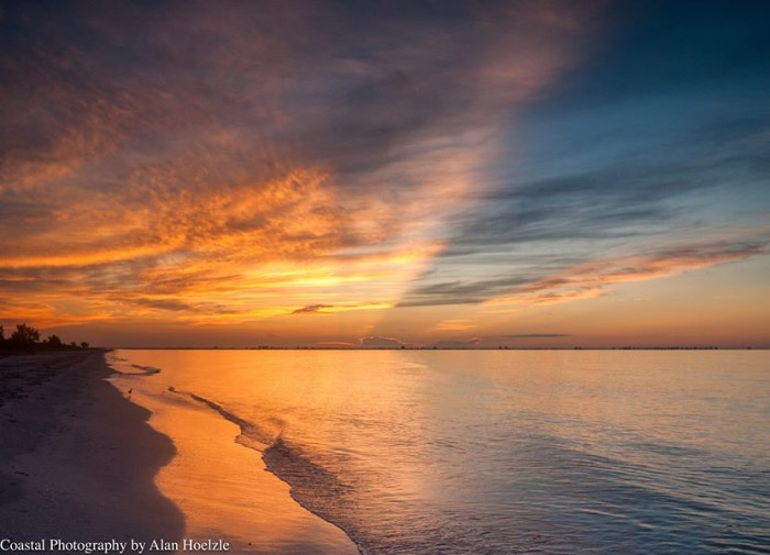 3. This summer morning in Sanibel was shared with us by Coastal Photography by Alan Hoelzle