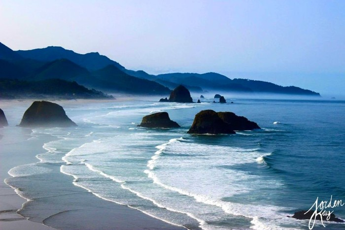 11) The lovely Cannon Beach, shot by Jorden Demory.