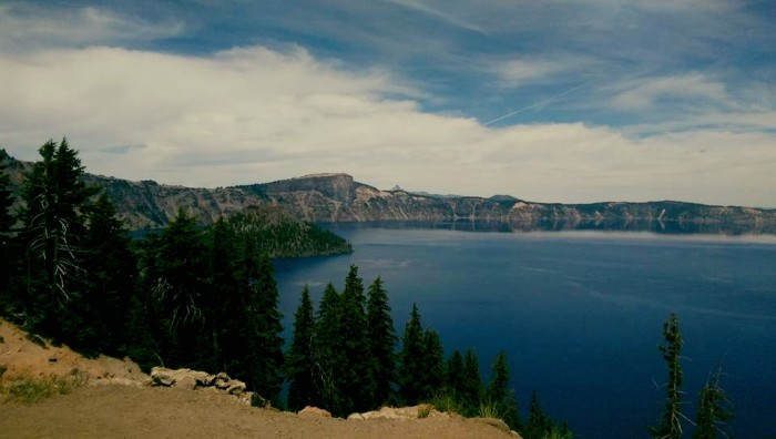 10) Crater Lake in June by Brie Hawkins.