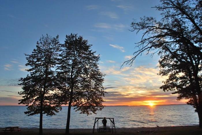 3. Jane Wedekind took this stunningly beautiful sunrise photo at Anderson's Horseshoe Bay Resort on Leech Lake.