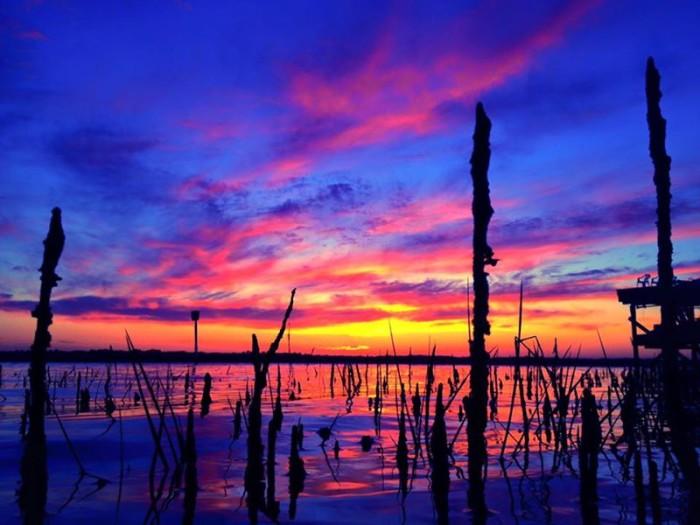 14. Mark Mite captured this shot of a sunset on Intercoastal Waterway in St. Augustine