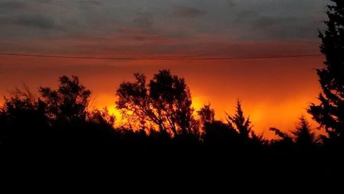 1. Blaring Barton County Sunrise!