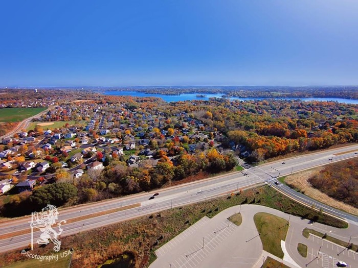 18. Scot Concur took a phenomenal photo of Prior Lake in all its fall glory.