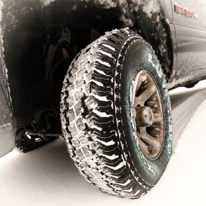 8. These tires don't look THAT bad...do they?