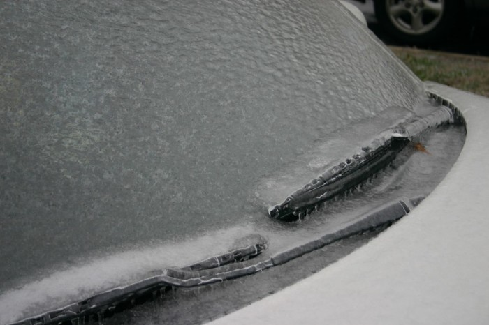 12. I have to remember to warm up the car in the morning so the windshield is defrosted when I'm ready to leave.