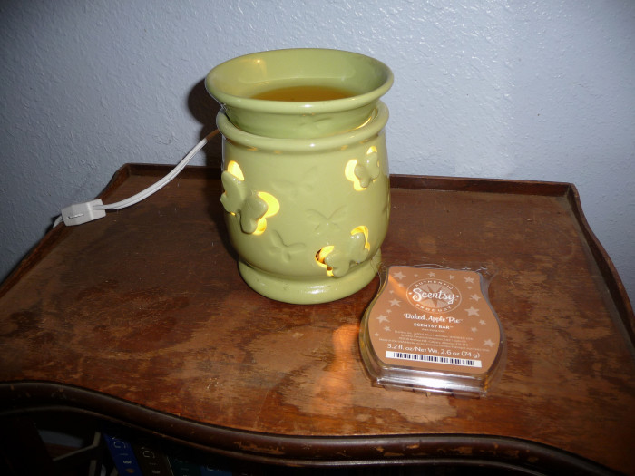 12. And winter means we get to plug in the Scentsy and put in our favorite seasonal scents!