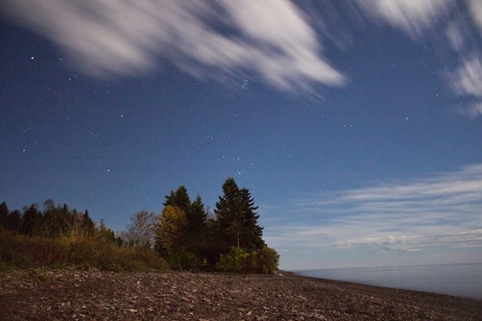 1. Stacy Moe captured the stars over Superior in this one-of-a-kind shot.