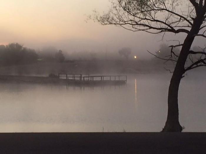 7. Pre-dawn somberness.