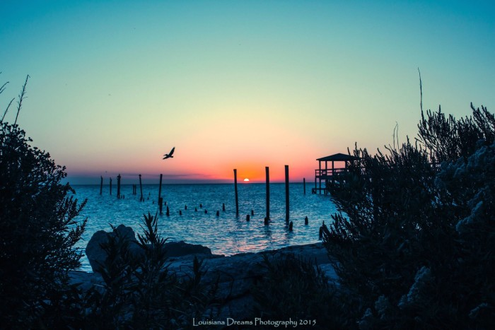 "7) ""Lake Breeze Sunset""...on the Pontchartrain. By Louisiana Dreams Photography."