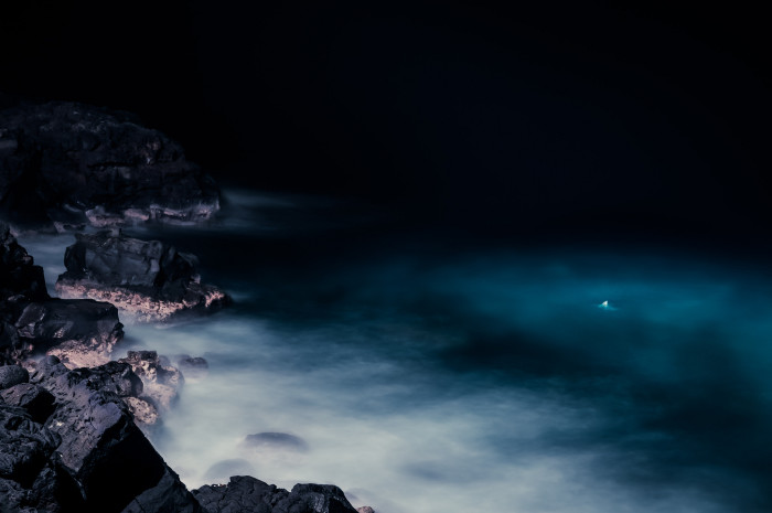 13) This long-exposure shot taken on the Big Island is quite ethereal.