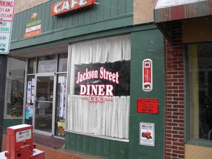12.Jackson Street Diner, St. Mexico