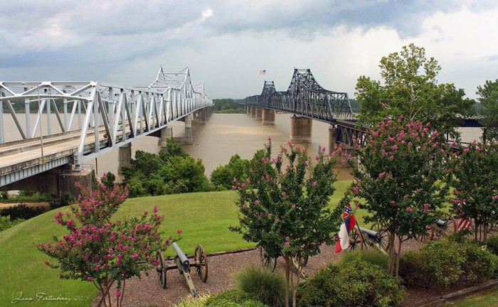 13. This marvelous photo was taken by Janie Fortenberry in Vicksburg.