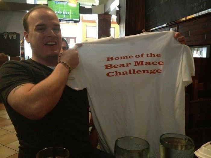 6. Bearfoot Tavern's Bear Mace Wing Challenge - 401 Cherry St, Macon, GA 31201