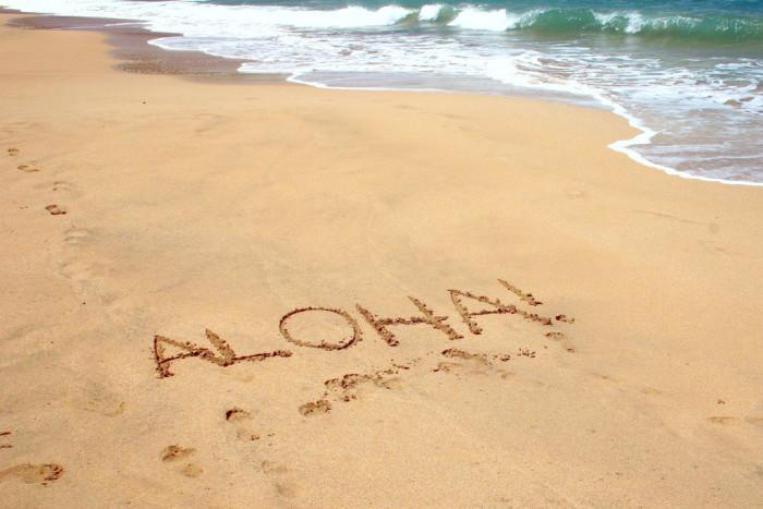 14) Spreading the Aloha spirit to everyone they meet!