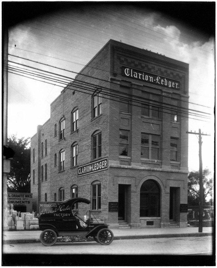 14. Taken in 1912, Jackson's Clarion-Ledger is the second oldest company in the state.