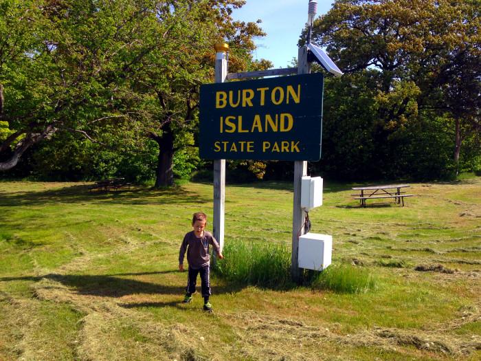 10) Burton Island State Park, St. Albans