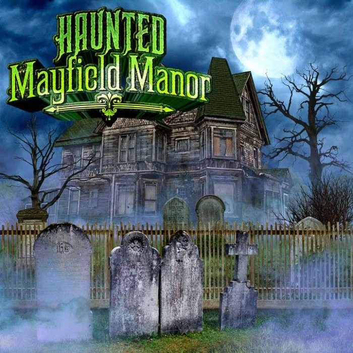 2) Haunted Mayfield Manor (Galveston)