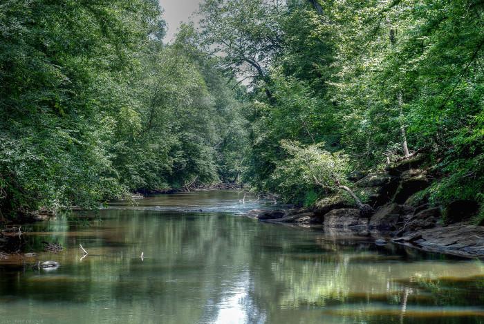 6. Yellow River - Stone Mountain, Georgia