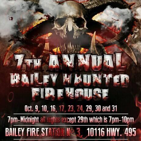 1. Bailey Haunted Firehouse, Meridian