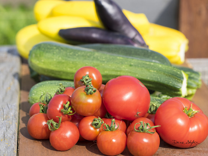 10. Buying zucchinis, cucumbers, tomatoes, or peppers in the summer.
