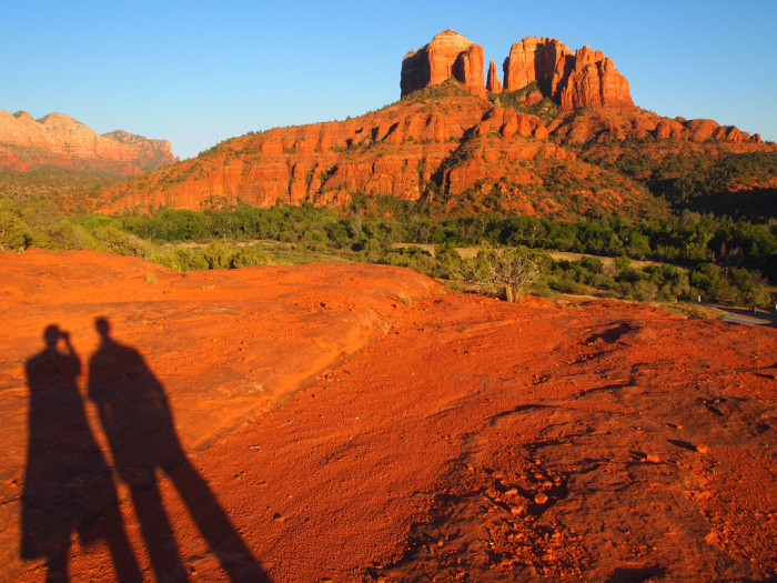 2. Check out the unique landscapes in northern Arizona.
