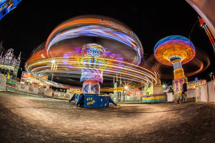 10. Rides at the New Jersey Rotary Carnival in Hillsborough.